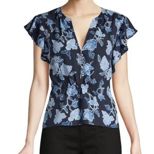 Joie Floral Crisbell Top